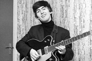 George Harrison nel 1963, foto: ITV/REX USA