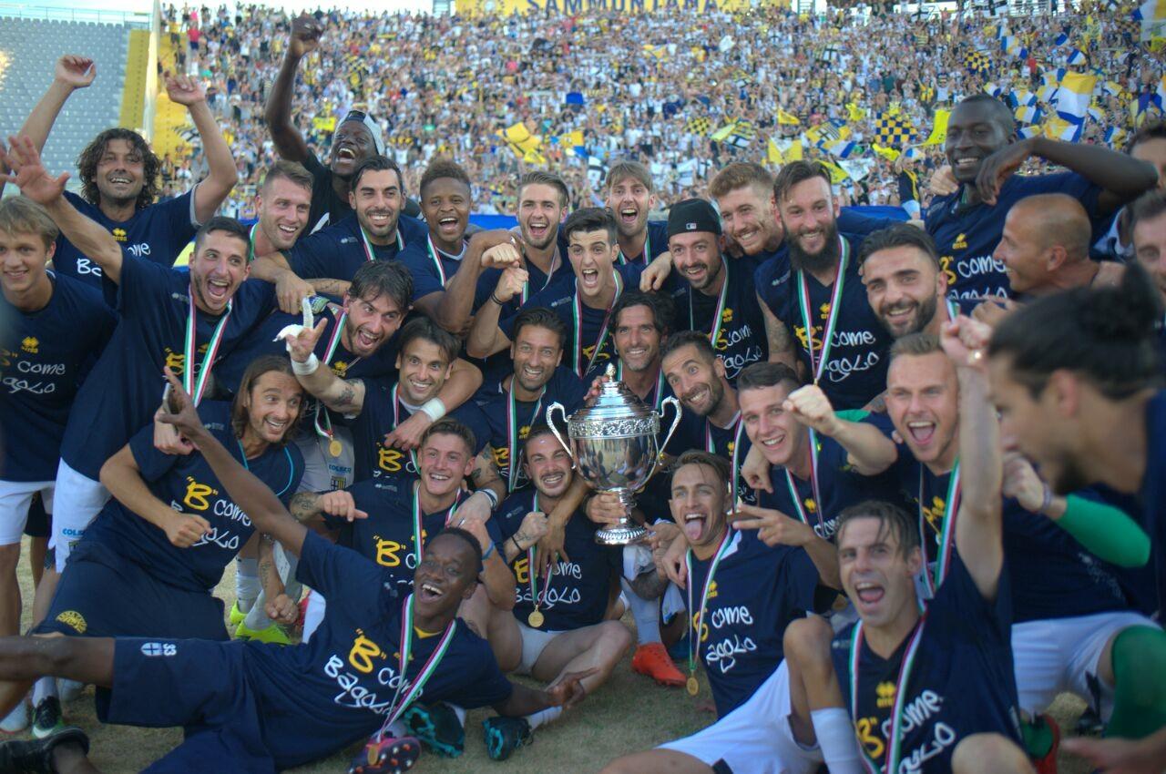 Parma in Serie B, foto: parmacalcio1913.com