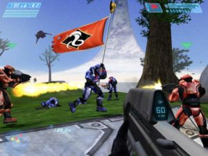 Round di Capture the Flag su Halo CE