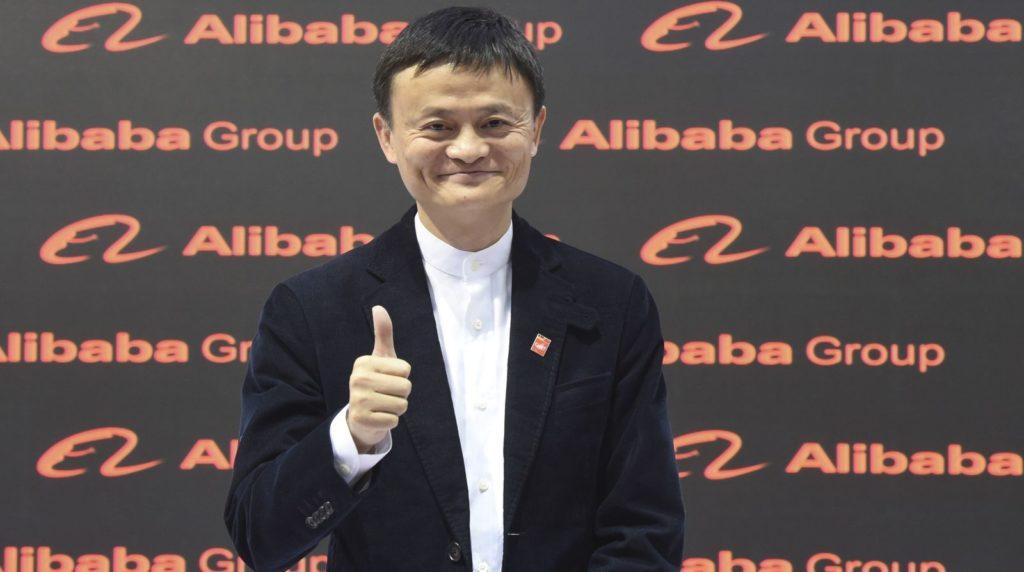 Jack Ma durante un suo viaggio negli USA. (Reuters/Fabian Bimmer)