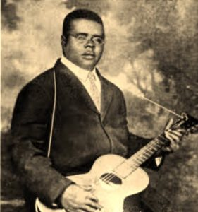 Blind Lemon Jefferson, ritratto