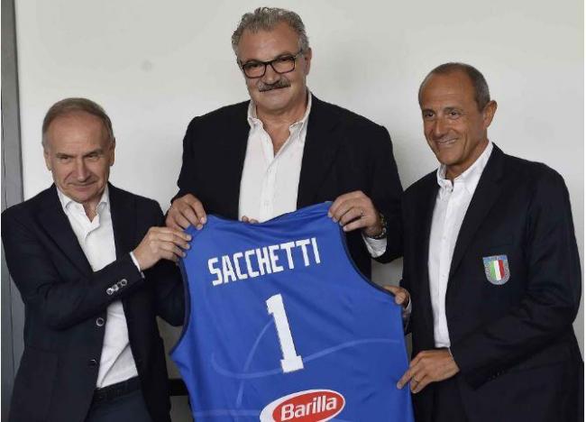 Coach Meo Sacchetti viene nominato C.T. dell Nazionale.