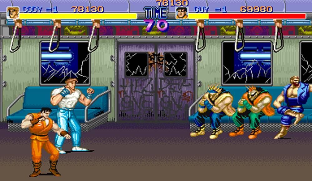 final fight grafica 3d