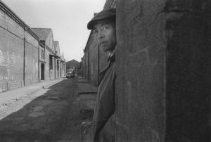 Una delle foto della mostra di Yukichi Watabe (Foto/Industria Bologna).