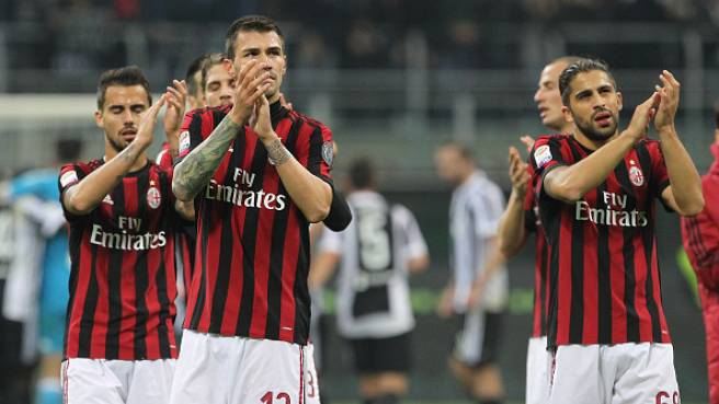 Milan - Juventus 0 -2. Foto: Getty Images.