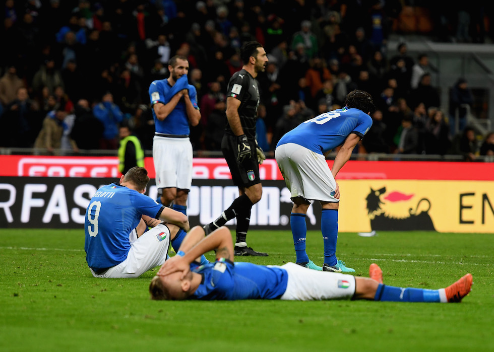 Italia-Svezia. Foto: Claudio Villa/Getty Images.