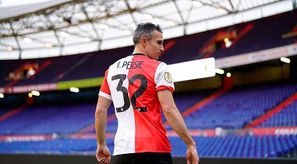 Robin Van Persie torna al Feyenoord dopo 14 anni. Foto: Reuters
