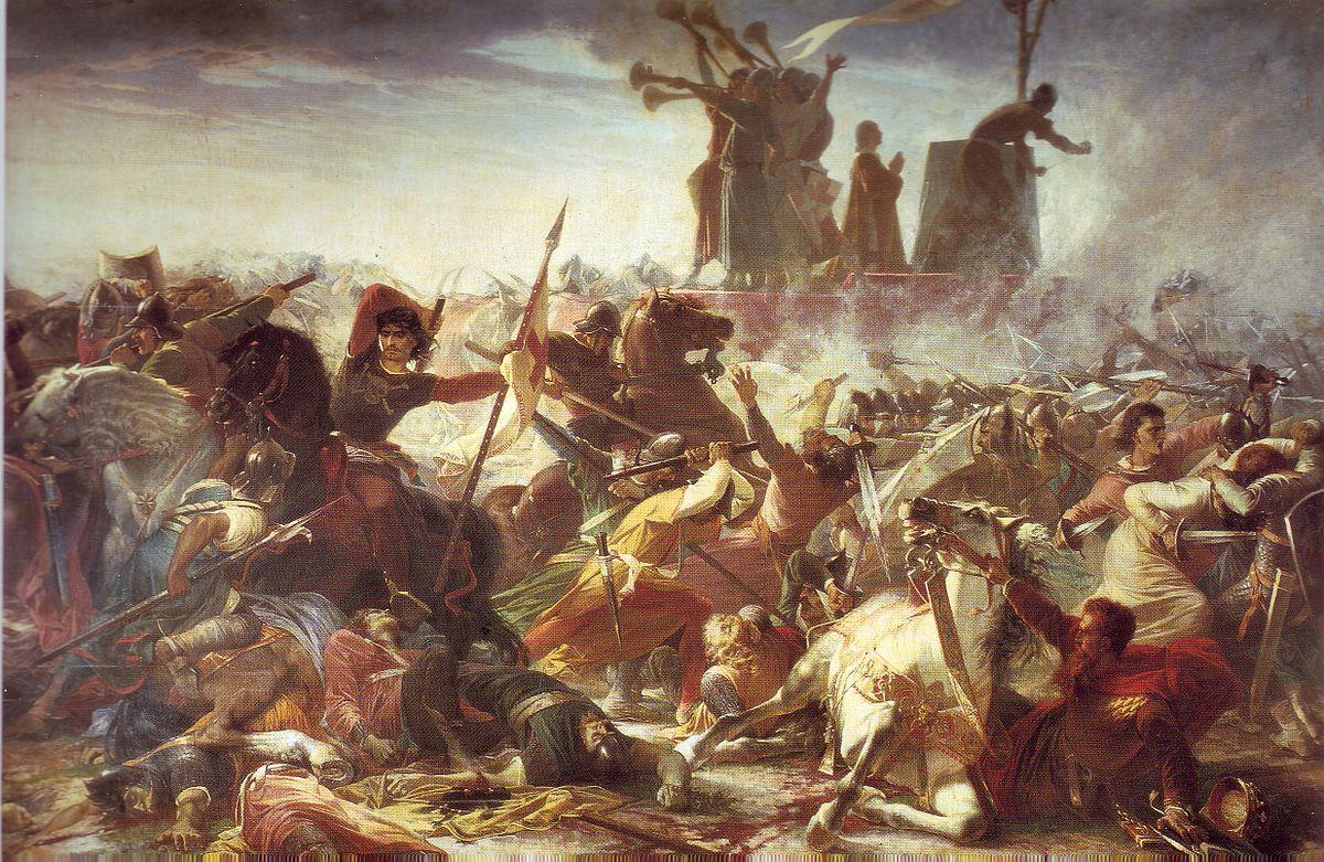 La battaglia di Legnano (1176).