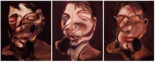 Tre studi per un autoritratto di Francis Bacon