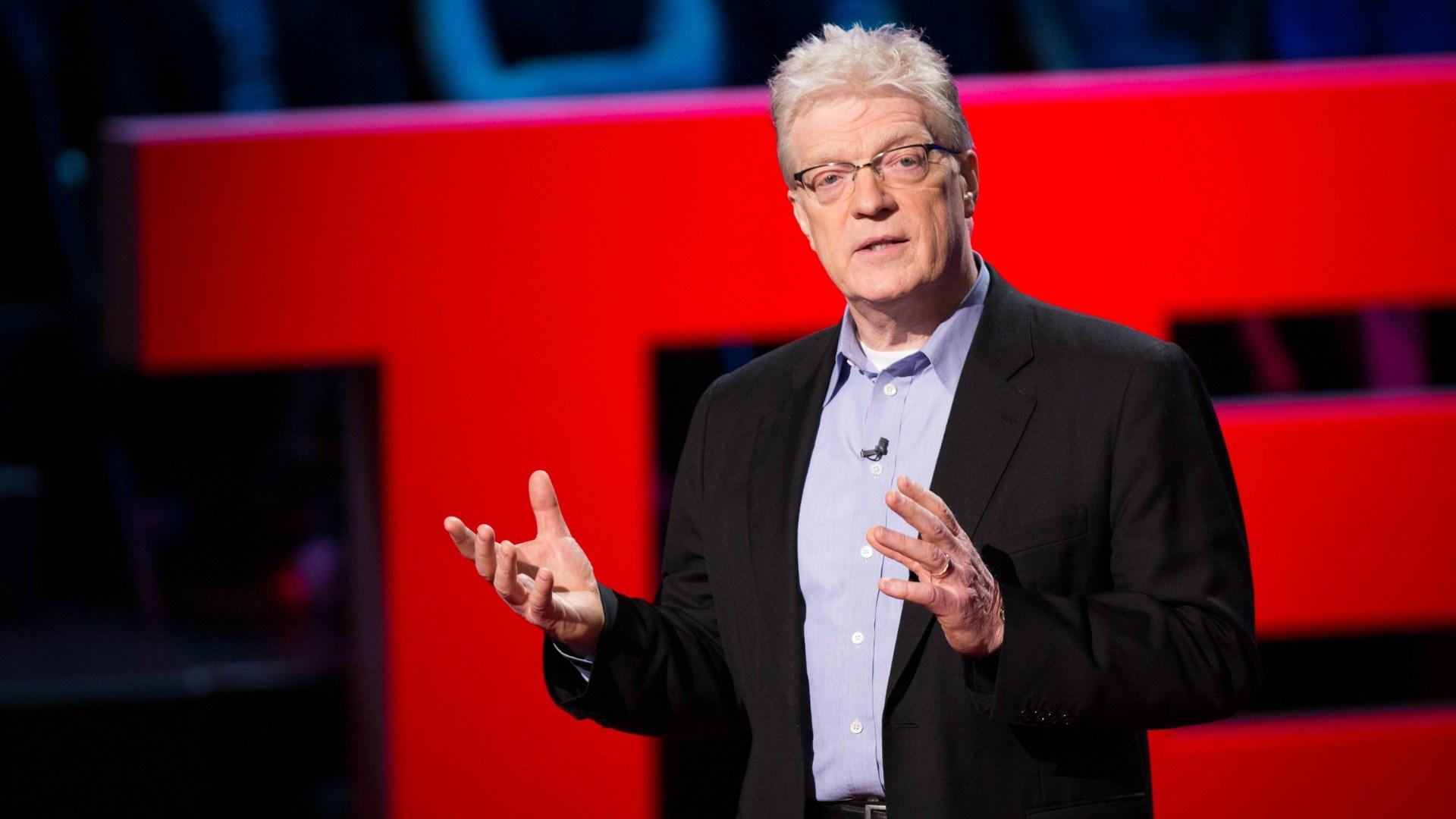Sugli accademici: Ken Robinson, educatore e scrittore britannico.