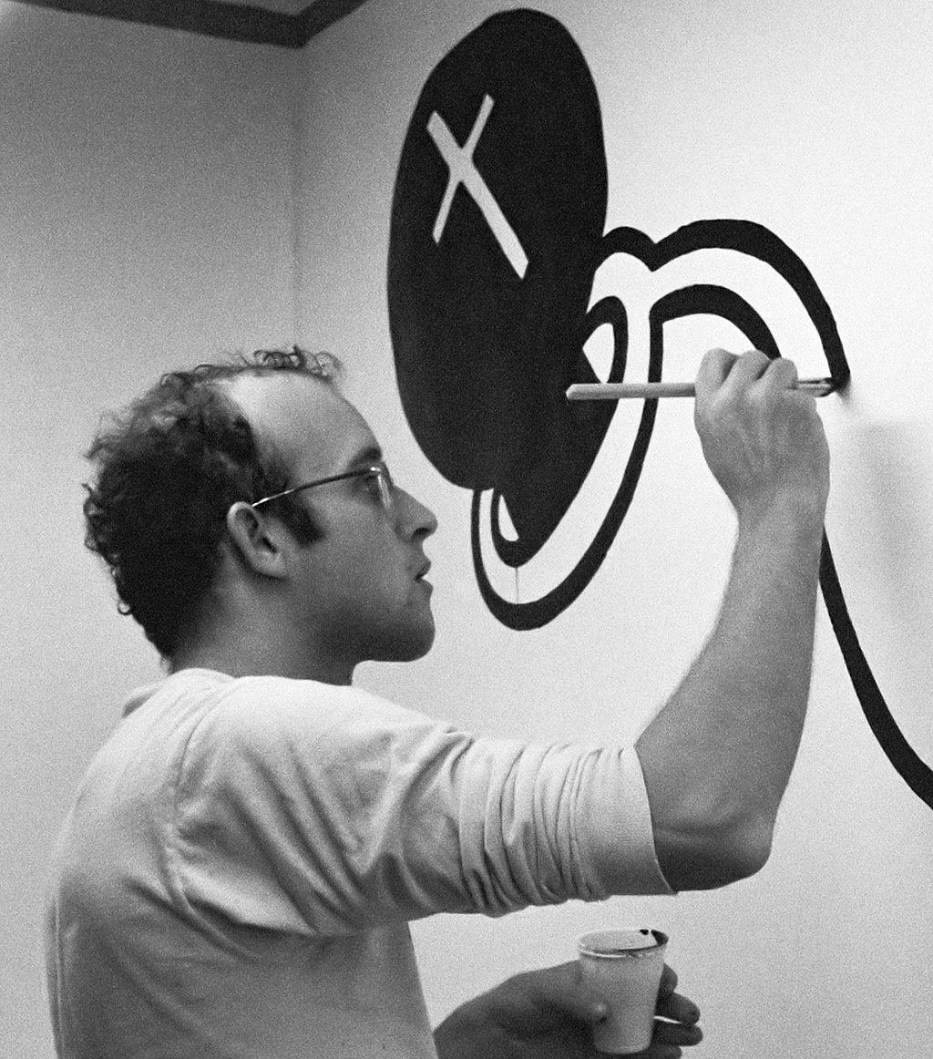 Keith Haring. Fonte: Wikipedia.