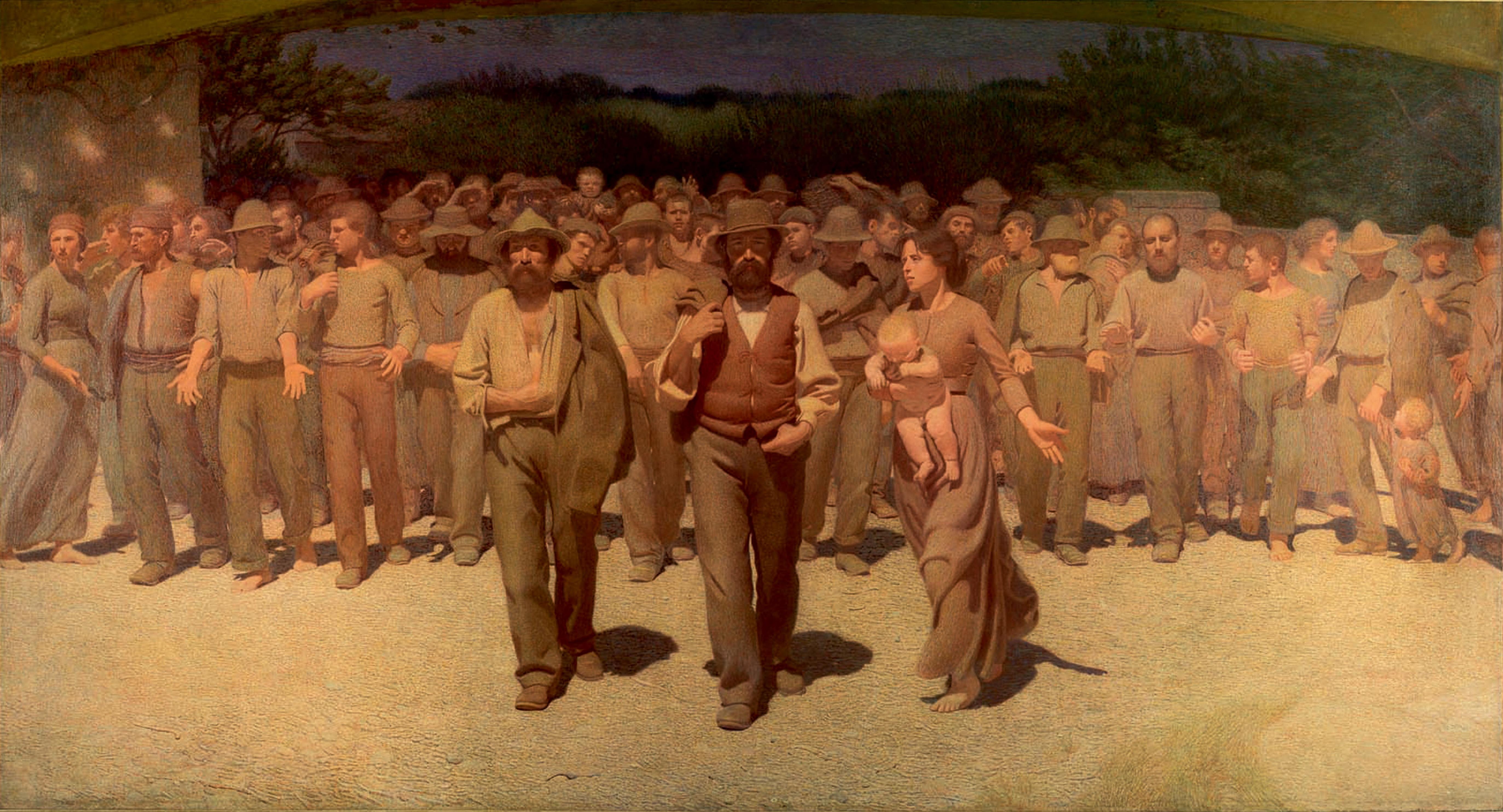 Giuseppe Pellizza da Volpedo, Il quarto stato (1901)