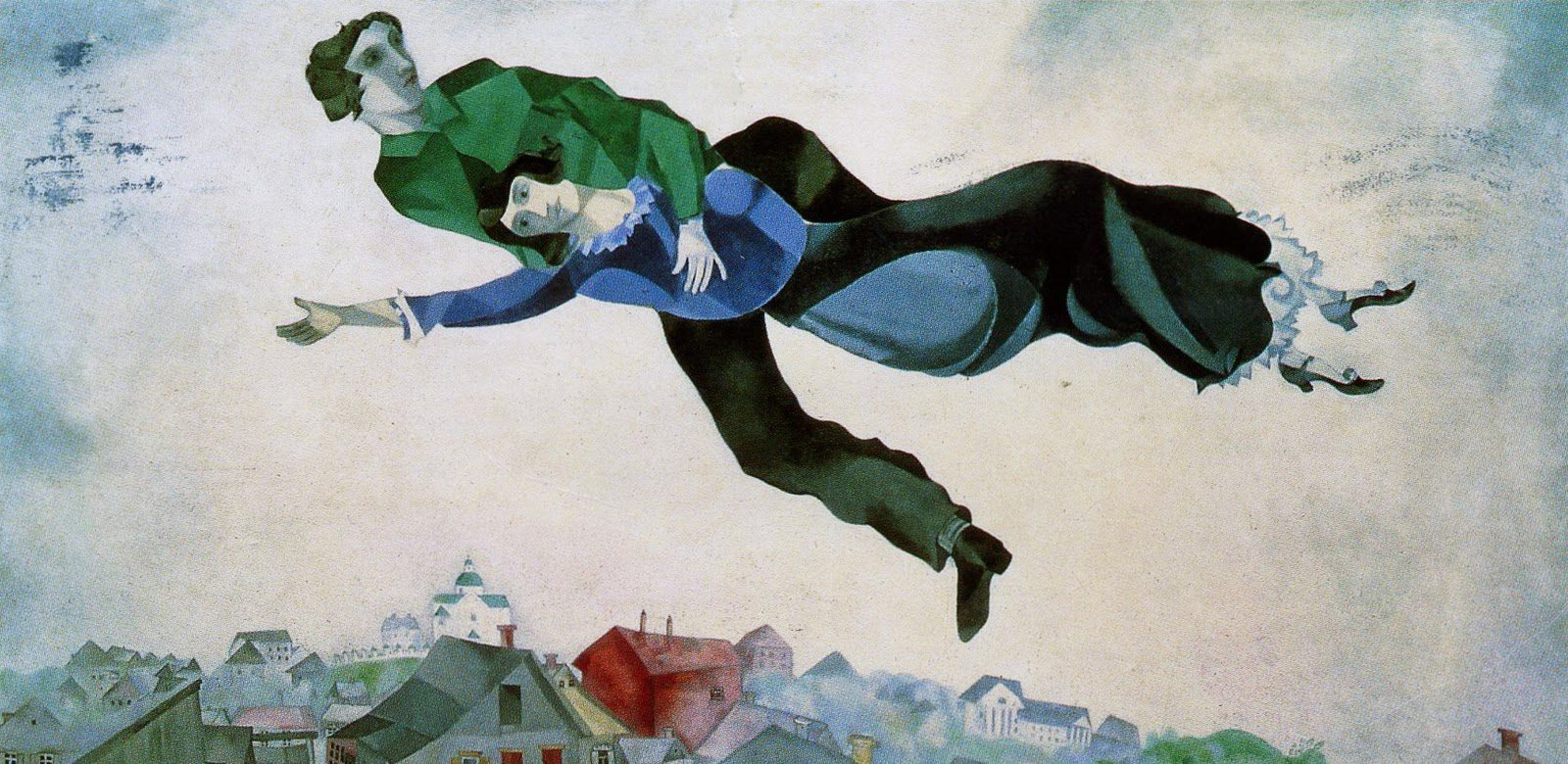 Marc Chagall_over-the-town-