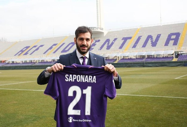 Riccardo Saponara - Presentazione Fiorentina