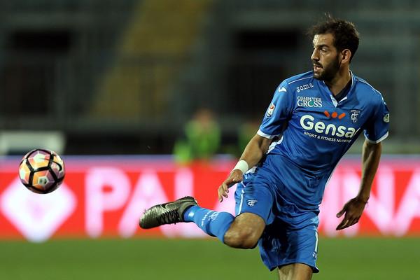 Riccardo Saponara (Fiorentina) con la maglia dell'Empoli