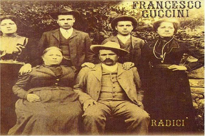 Un argomento del cantato colloquiale di Guccini, la famiglia.