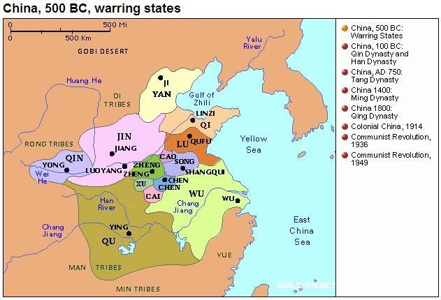 L'epoca degli Stati Combattenti è il periodo in cui presumibilmnte Sun Tzu ha scritto L'arte della Guerra