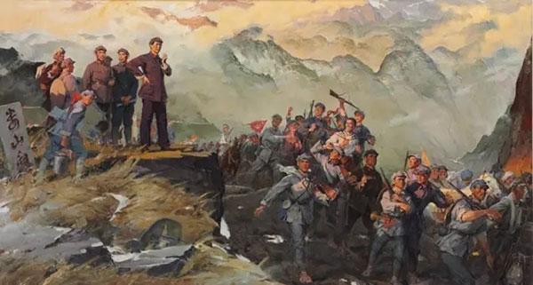 Nella sua Lunga Marcia Mao si è spesso ispirato ai dettami de' L'arte della guerra