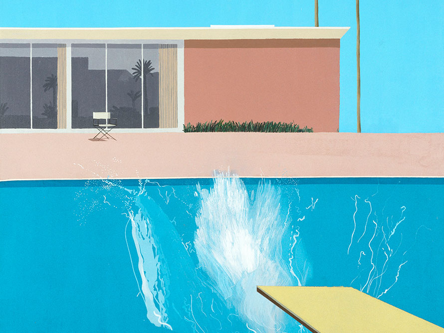 splash hockney