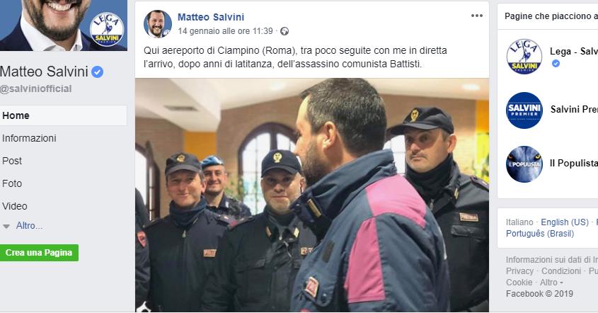 La divisa che indossa Salvini è un simbolo della nuova italianità