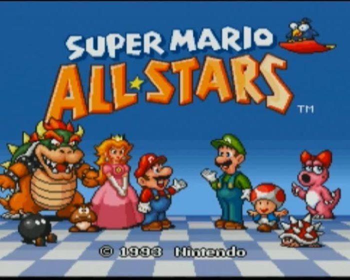 super mario all stars remake