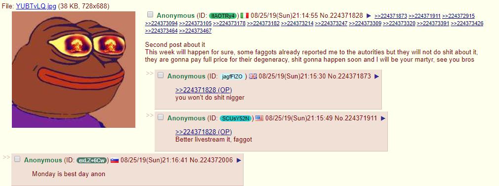 attentato 4chan