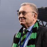 Giorgio Squinzi, patron del Sassuolo. Foto: Claudio Villa - Inter/Inter via Getty Images.