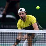 Matteo Berrettini, uno dei nuovi volti del tennis italiano. Foto: Getty Images.