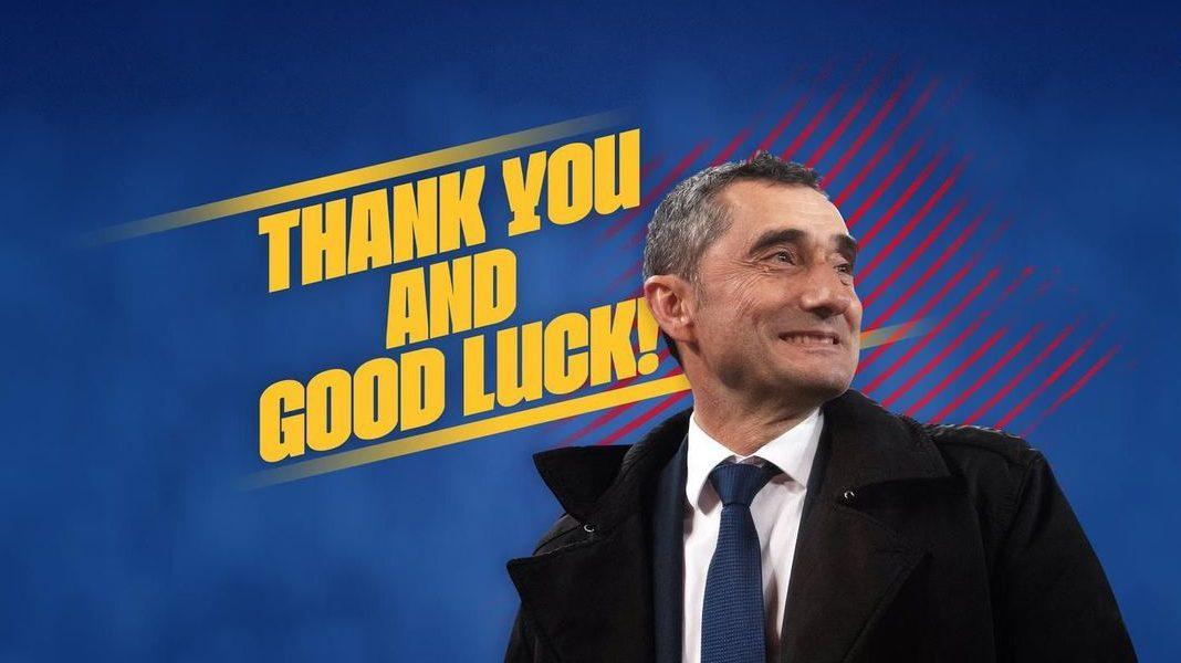 Ernesto Valverde, ex-tecnico del Barcellona. Foto: fcbarcelona.com